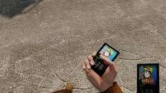 Naruto tema para tu teléfono para GTA 4