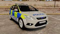 Ford Focus Estate Norfolk Constabulary [ELS] para GTA 4