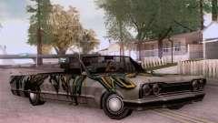 El trabajo de pintura para Sabana para GTA San Andreas
