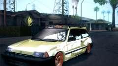 Honda Civic Si 1986 para GTA San Andreas