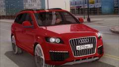 Audi Q7 Winter para GTA San Andreas