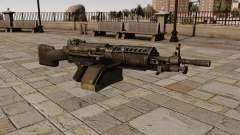 La ametralladora M249 ligera