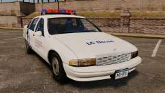 Chevrolet Caprice Police 1991 v2.0 N.o.o.s.e para GTA 4