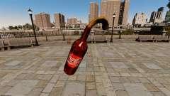 Cóctel Molotov-Coca-cola -
