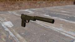 M9 autocargable pistola con silenciador