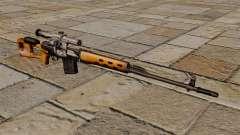 Rifle de francotirador Dragunov de S.T.A.L.K.E.R