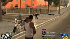 C-HUD by Alex-Castle para GTA San Andreas