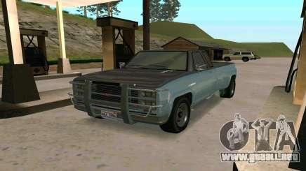 Bobcat XL de GTA 5 para GTA San Andreas