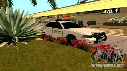 GTA V Sheriff Cruiser para GTA San Andreas
