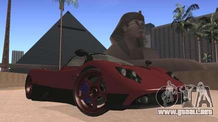 Pagani Zonda para GTA San Andreas