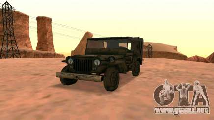 Willys MB v ju2 para GTA San Andreas