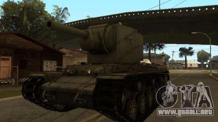 KV-2 para GTA San Andreas