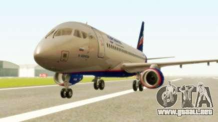 Sukhoi Superjet 100-95 Aeroflot para GTA San Andreas
