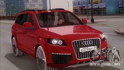 Audi Q7 Winter para GTA San Andreas