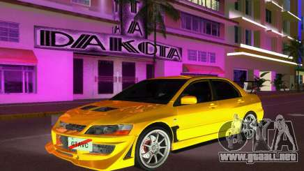 Mitsubishi Lancer Evolution VIII Type 8 para GTA Vice City