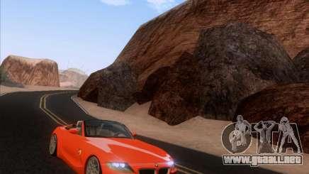 BMW Z4 Edit para GTA San Andreas