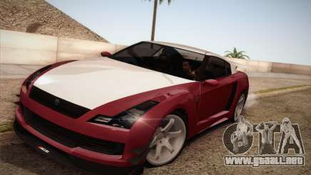 Elegy RH8 from GTA V para GTA San Andreas