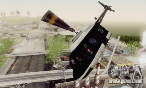 Police Maverick para visión interna GTA San Andreas