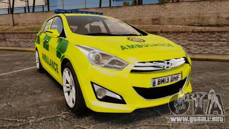 Hyundai i40 Tourer [ELS] London Ambulance para GTA 4