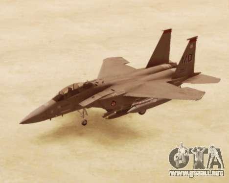F-15E Strike Eagle para GTA San Andreas