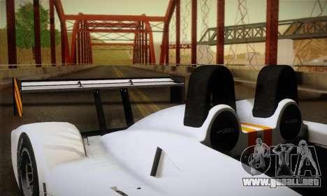 Caterham-Lola SP300.R para la vista superior GTA San Andreas
