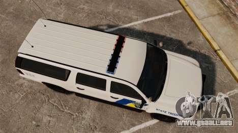 GTA V Declasse Police Ranger LCPD [ELS] para GTA 4 visión correcta
