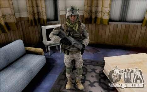 Quinton Cole para GTA San Andreas segunda pantalla