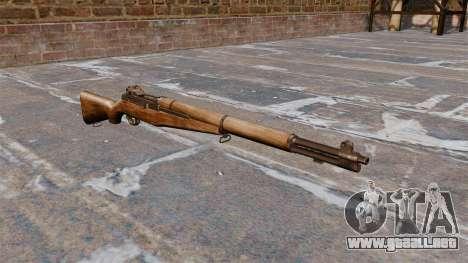 Self-loading rifle M1 Garand v1.1 para GTA 4