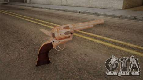 Colt Peacemaker (cromo) para GTA San Andreas