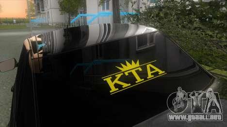 LADA Priora 2170 para la visión correcta GTA San Andreas
