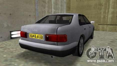 Audi A8 VCM para GTA Vice City left