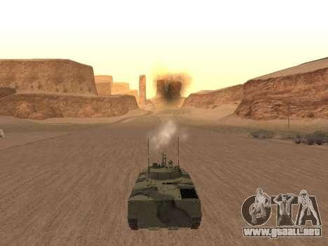 BMP-3 para la visión correcta GTA San Andreas