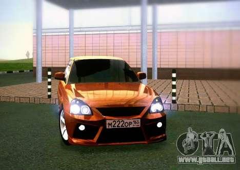 VAZ-2172 cupé Sport para GTA San Andreas vista posterior izquierda