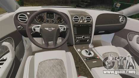 Bentley Continental SS v3.0 para GTA 4 vista interior