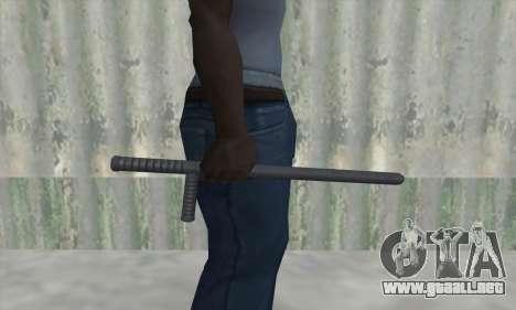 Batuta de GTA V para GTA San Andreas tercera pantalla