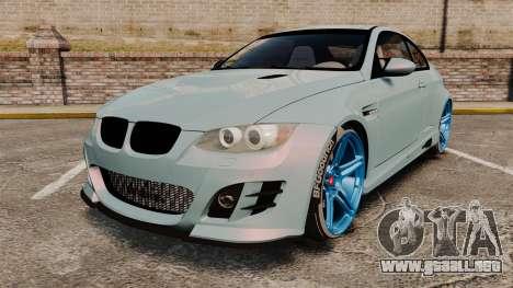 BMW M3 GTS Widebody para GTA 4