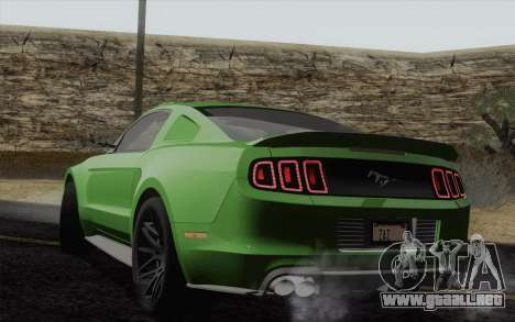 Ford Mustang GT 2013 para GTA San Andreas left