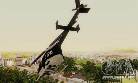 Police Maverick para la visión correcta GTA San Andreas