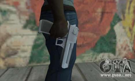 Desert Eagle de Saints Row 2 para GTA San Andreas tercera pantalla