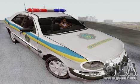 GAS-3111 Miliciâ Ucrania para GTA San Andreas