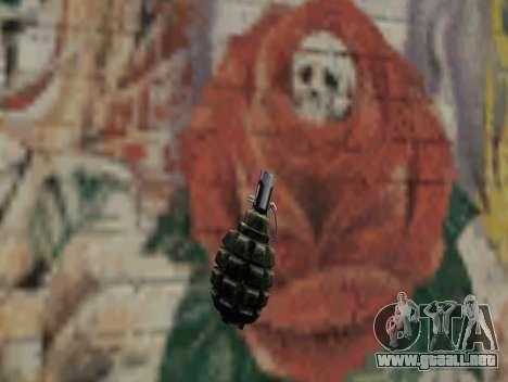 Granada de S.T.A.L.K.E.R. para GTA San Andreas
