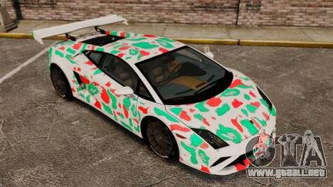 Lamborghini Gallardo 2013 v2.0 para GTA 4 vista desde abajo