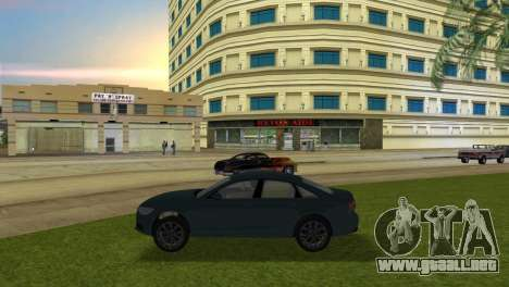 Audi A6 2012 para GTA Vice City left