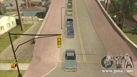 Smooth Camera para GTA San Andreas segunda pantalla