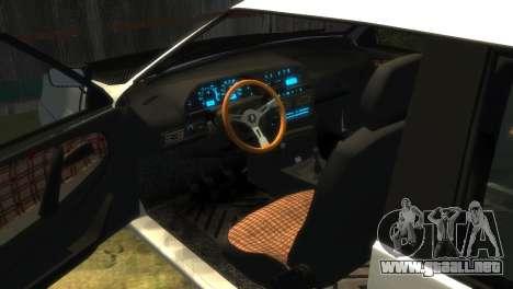 2113 VAZ para GTA 4 vista superior