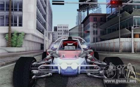 XCelerator Buggy XL para GTA San Andreas vista hacia atrás