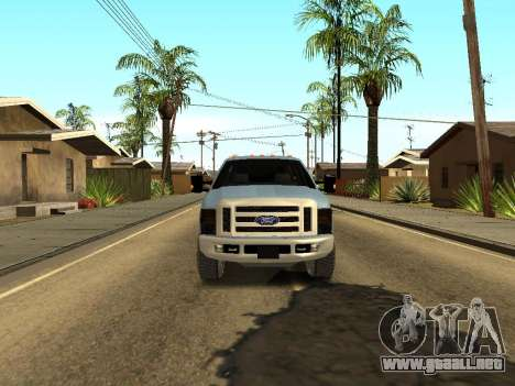 Ford Excursion para GTA San Andreas vista hacia atrás
