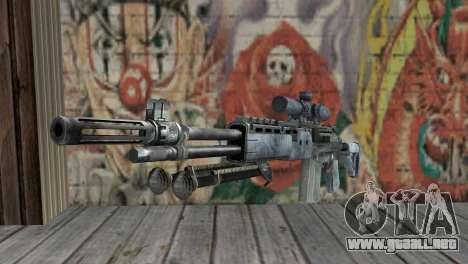 M14 EBR Blue Tiger para GTA San Andreas