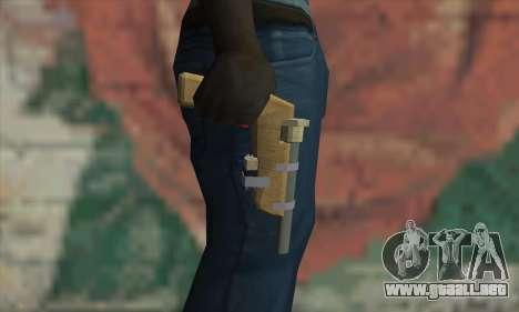 Arma casera para GTA San Andreas tercera pantalla