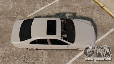BMW 525i (E39) para GTA 4 visión correcta